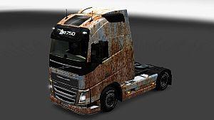 Volvo 2012 Rust skin