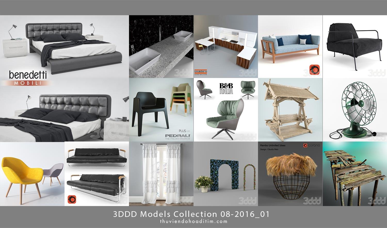 3dSky 3DDD Models Collection