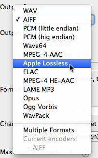 Converting FLAC to Apple Lossless for iTunes Playback - Poor Audiophile