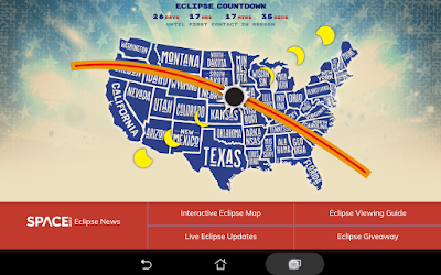 Android screen grab from Eclipse Safari