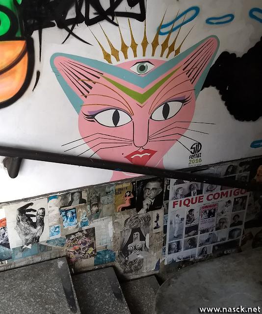 Graffiti_Av. Paulista com a Consolação