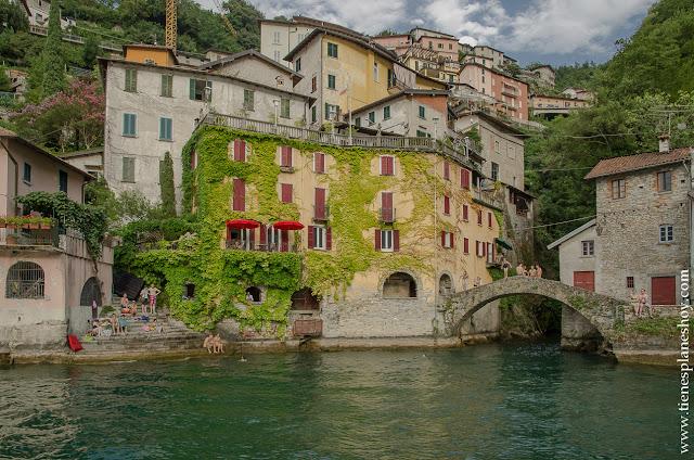 Nesso Lago di Como viaje Italia
