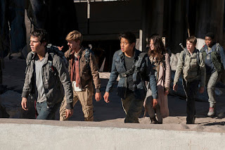 the maze runner the scorch trials-dylan obrien-thomas brodie-sangster-ki hong lee-kaya scodelario-jacob lofland-dexter darden