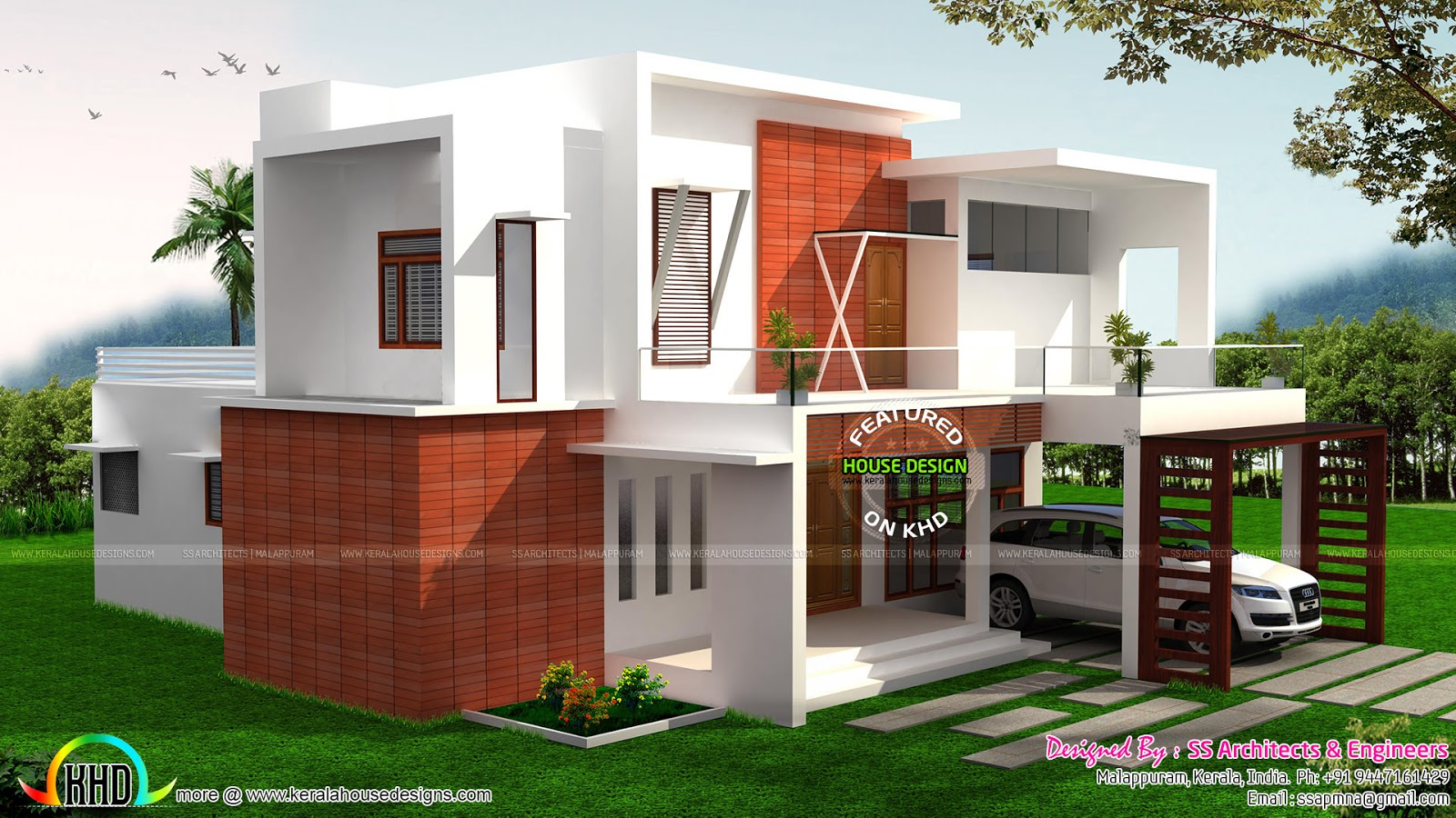 2605 Sq Ft Modern House Plan Architecture Kerala Home