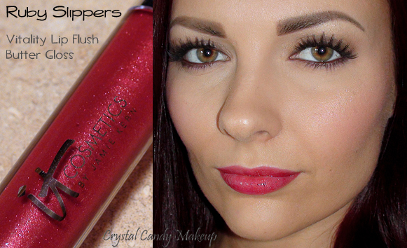 Vitality Lip Flush Butter Gloss de It Cosmetics Ruby Slippers - Review - Swatch
