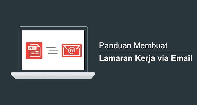 Cara Membuat Surat Lamaran Kerja Email PDF Ukuran Kecil