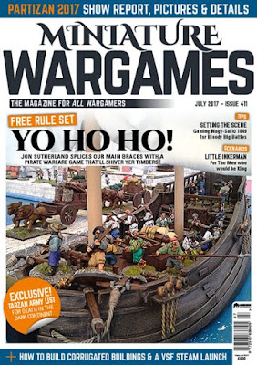 Miniature Wargames 411, July 2017