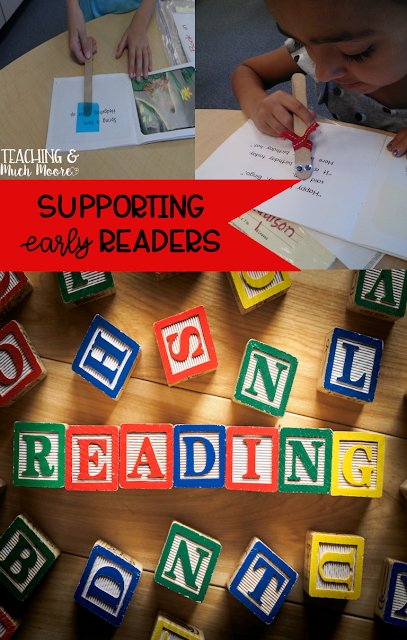 SSupport your early readers by using your small group time effectively.