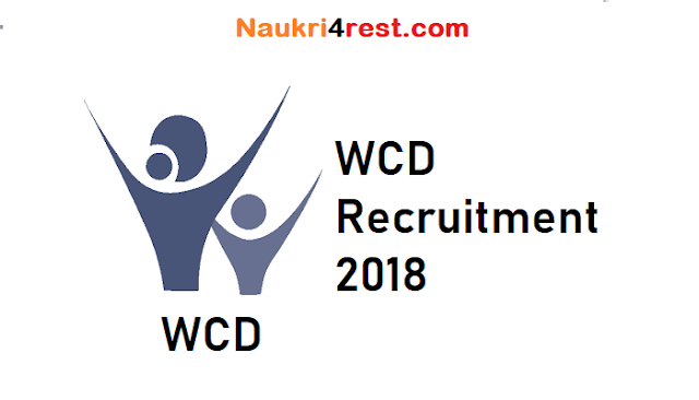 WCD Recruitment 2018
