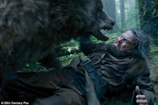 Proses Make Up Luka Mengerikan pada Tubuh Leonardo DiCaprio di film The Revenant