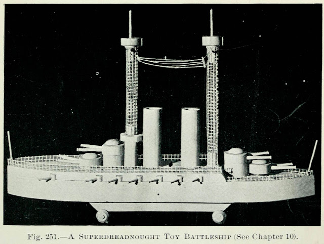 Super Dreadnought Battleship Toy Plan – DIY Model Boat Plans