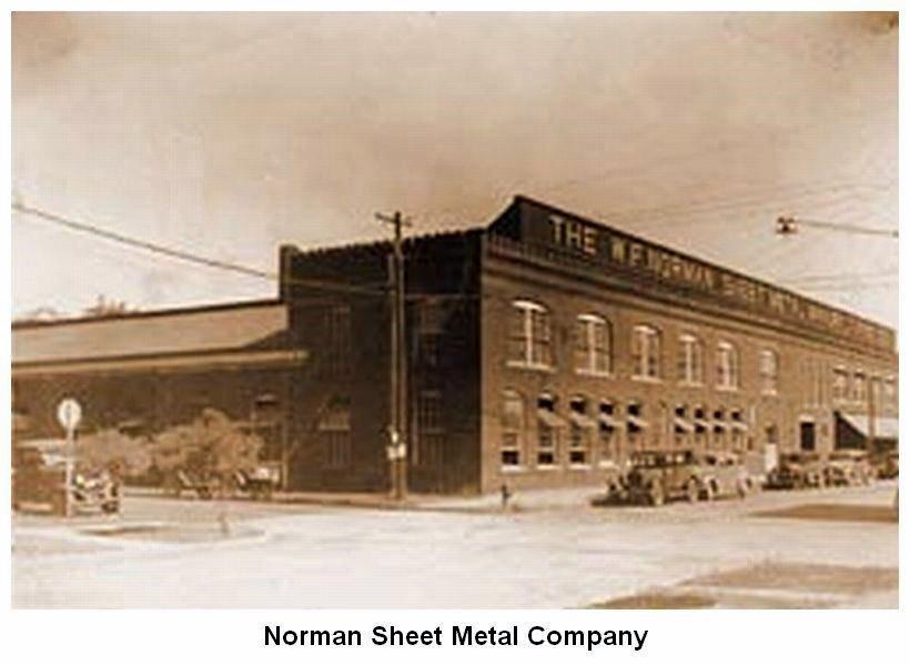 Growingupbrittingham Com W F Norman Sheet Metal Factory