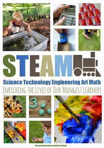 STEAM (science, technology, engineering, art, and mathematics) book for young children