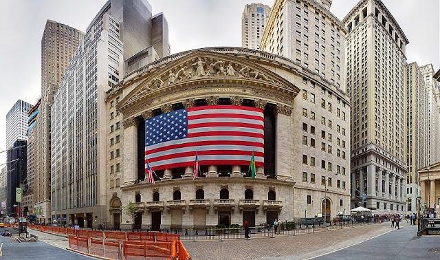 Wall Street em Nova York