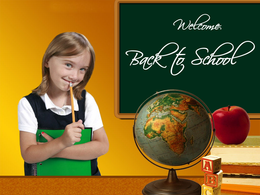 Wallpapers and pictures: Welcome back to school wallpaper