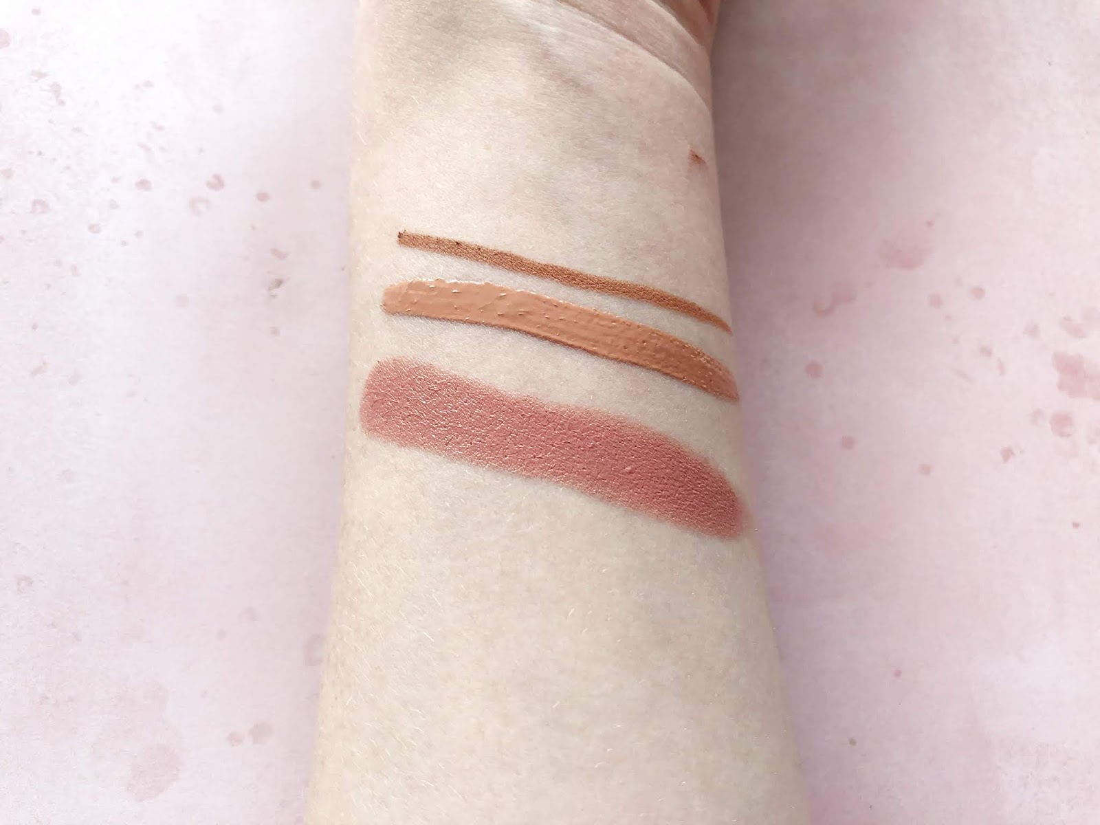 My Favourite Nude Lip Combination Swatches