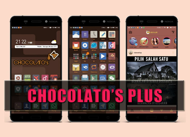 Tema Mod Chocolato's Plus For MIUI Xiaomi
