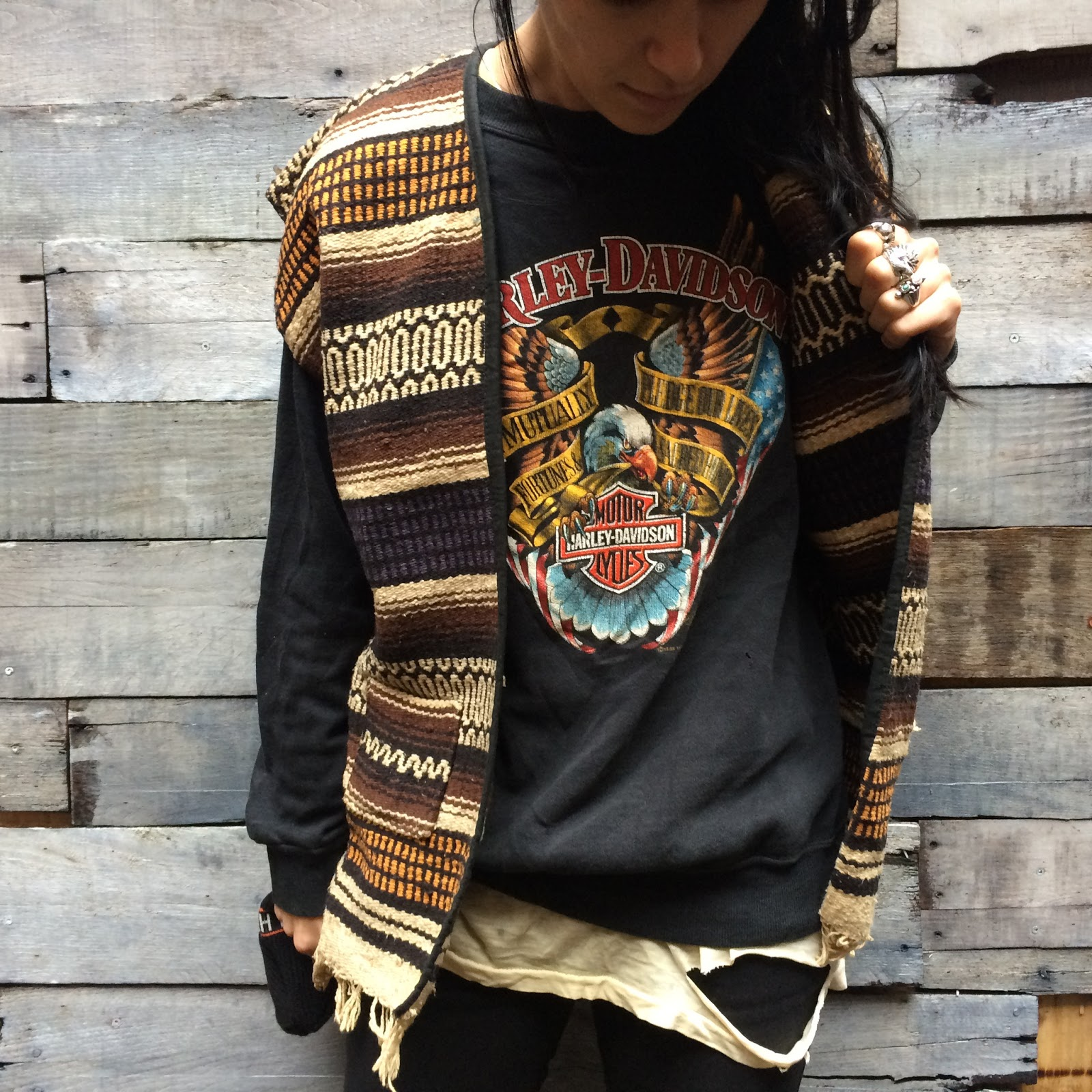 On Any Sunday BLOG: 【NEW ARRIVAL!】MEXICAN BLANKET VEST