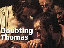 Biblical Archaeology and Doubting Thomas.
