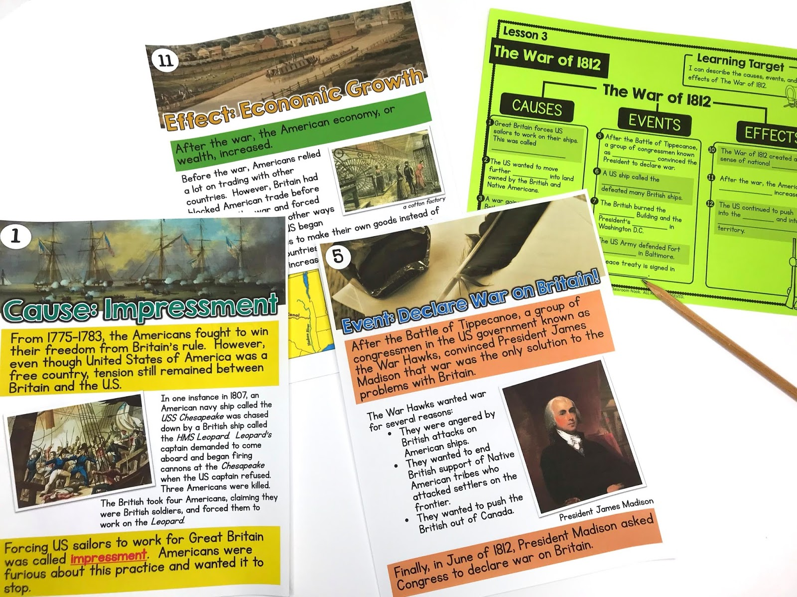 """Help students """"walk through history"""" using a gallery walk where students view pictures and read information about different events in history."""