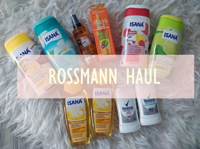 HAUL z Rossmanna - promocja 1+1