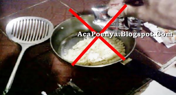 Jangan Masak Mie Instan Dengan Bumbunya Langsung