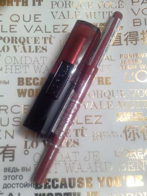 L'oreal Paris Infallible Le Rouge Lipsticks & Never Fail Lipliner