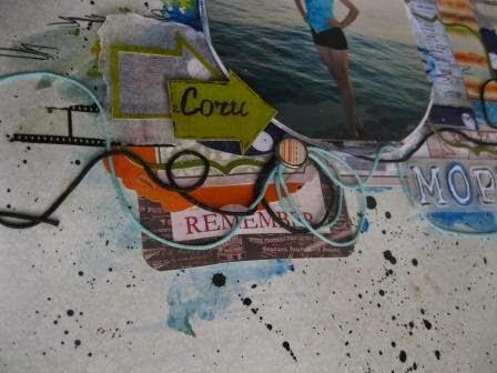 сочи,море,скрапработа,краски,фотопленка,скотч,буквы