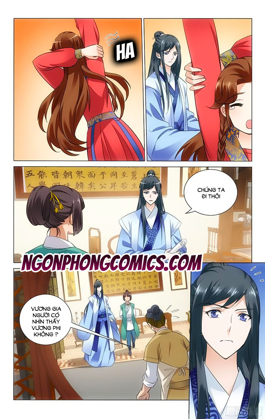 Vương Gia Không Nên A Chap 58 - Trang 11