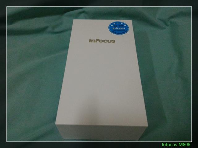 神秘銀InFocus M808之不神祕開箱