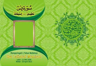 Cover Buku Yasin CDR