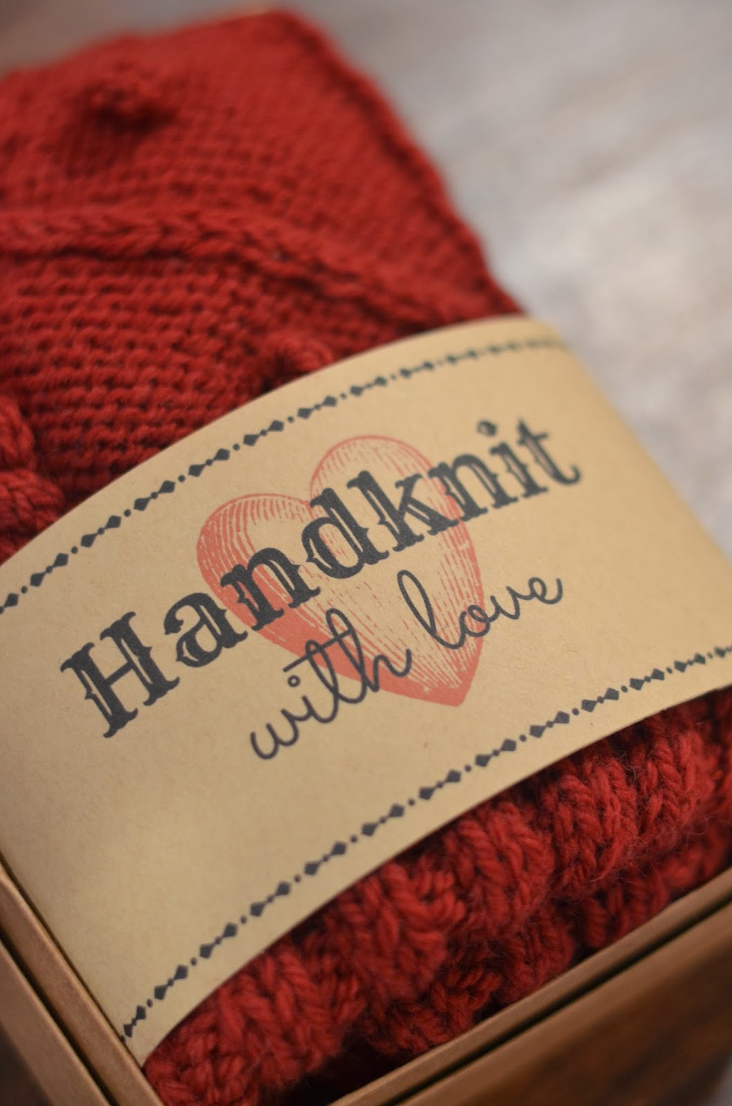 Free Printable T Tag For Handknits