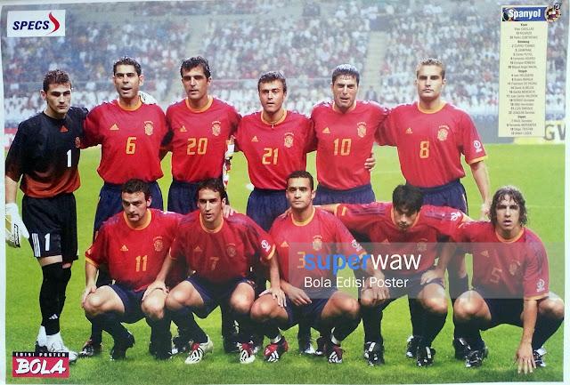 Poster Tim Spanyol