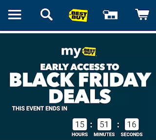 Best Buy Early Access to Black Friday