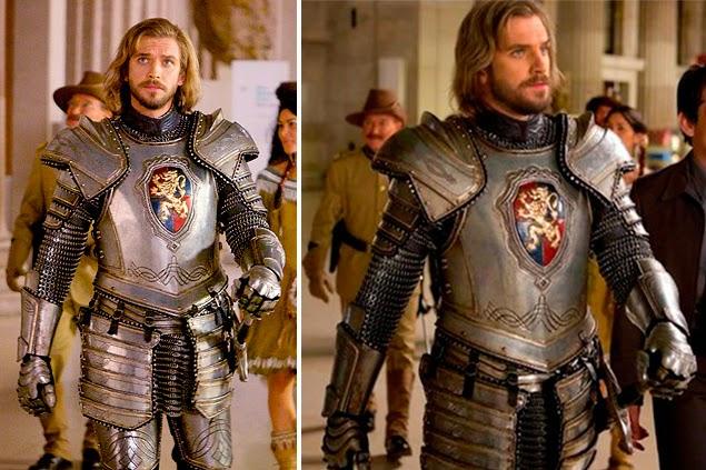 Lanceloti, em Uma noite no museu 3