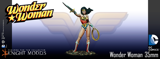 wonder woman dc knight models