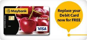 Cara Tukar Kad ATM Maybank Online Melalui Maybank2U