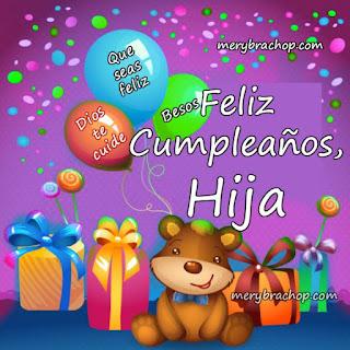 Feliz Cumpleaños Hija 1