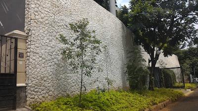 batu alam serai bali putih