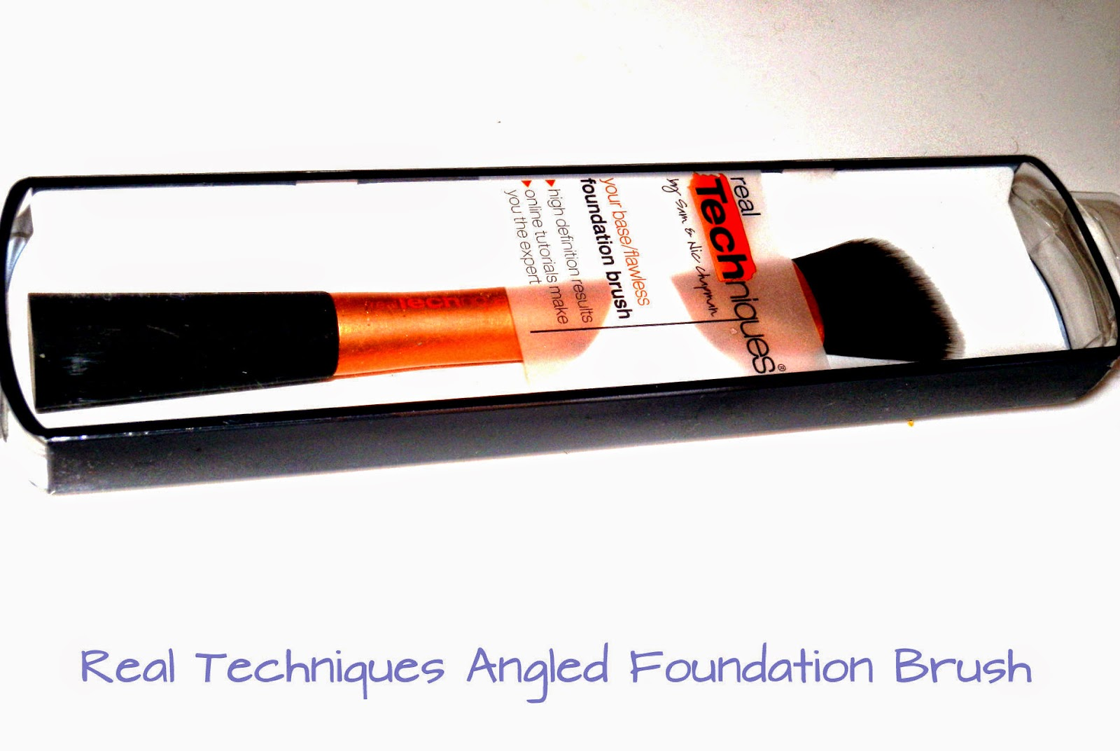Real Techniques Angled Foundation Brush