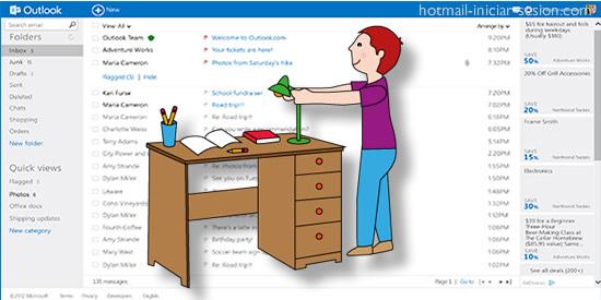tips para organizar tu Hotmail iniciar sesion
