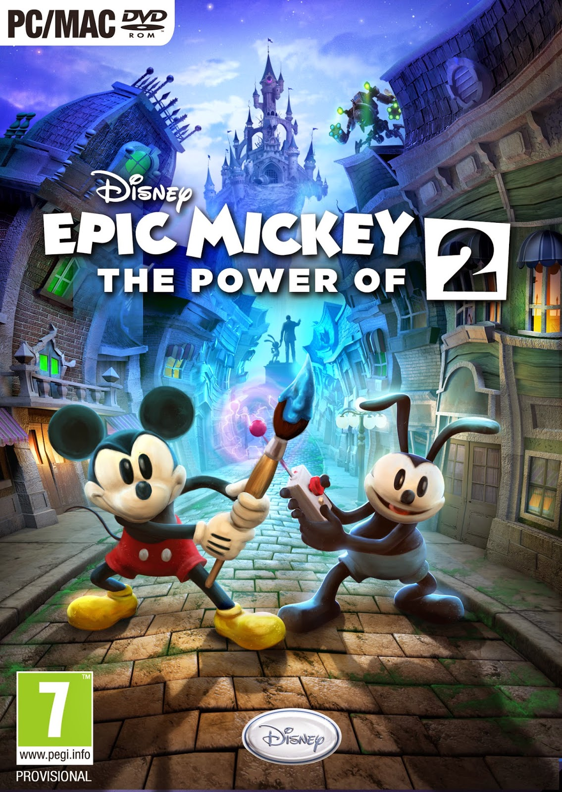 Epic Mickey 2 El Poder De Dos PC Descargar Cover Caratula