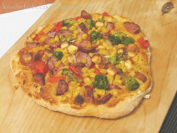 Pizza z oscypkiem i nie tylko :))