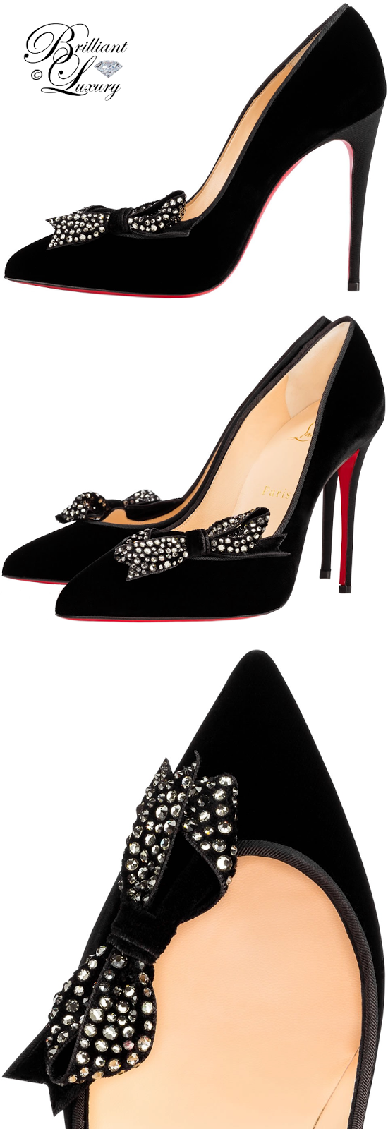Brilliant Luxury ♦ Christian Louboutin Madame Menule Pumps