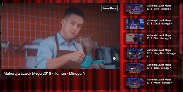 Video Penuh Maharaja Lawak Mega 2018 Minggu 4