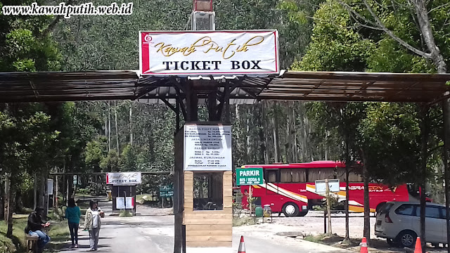 PRICE ENTRANCE TICKET KAWAH PUTIH CIWIDEY