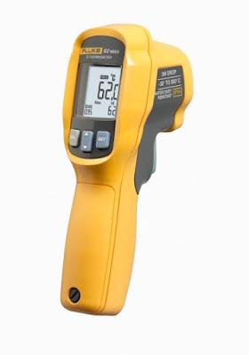 powder coating part metal temp ir thermometer