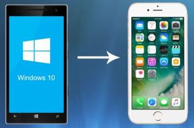 Windows Phone ke iPhone