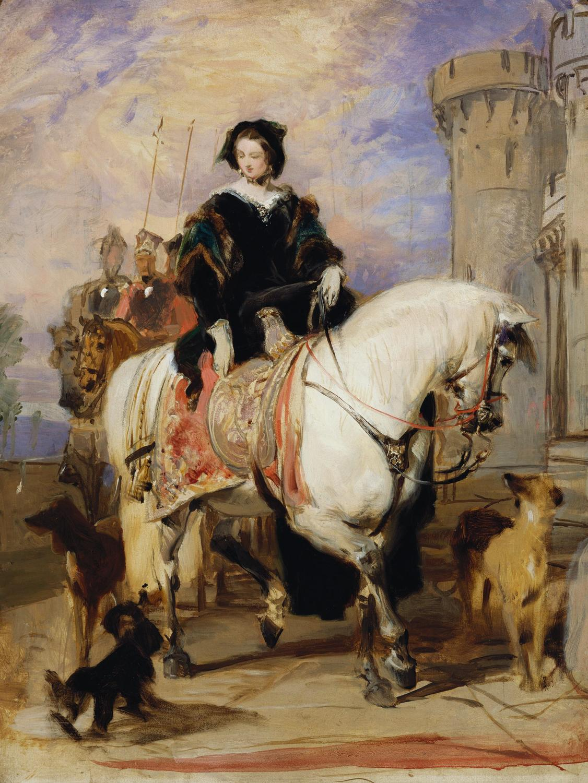 Spencer Alley Equestrian Figures