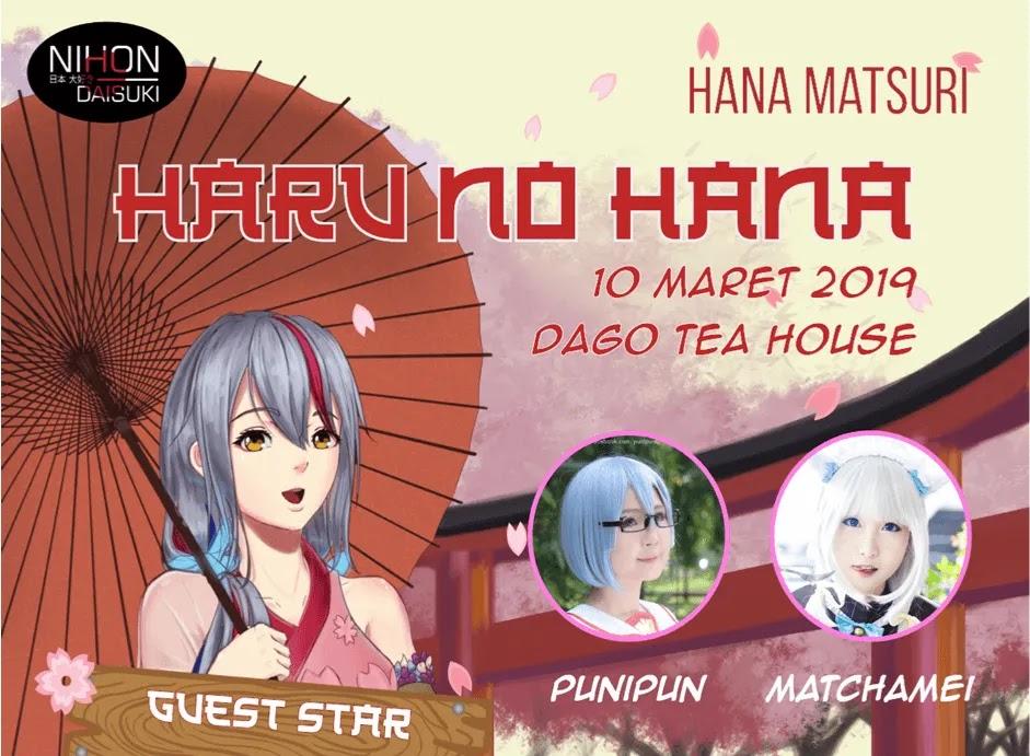 Nuansa Festival Matsuri ala Jepang bisa Kamu Rasakan di Event Haru no Hana